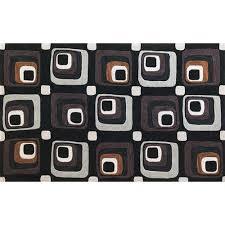 kas oriental rugs milan charcoal squares rectangular 5 ft x 7 ft 6 in rug
