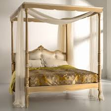 Four Poster Bed Italian Button Upholstered Four Poster Bed Juliettes Interiors