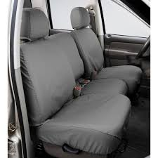 covercraft front seat cover seatsaver gray for 40 20 40 bench seat with center
