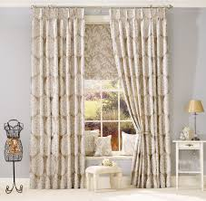 Patterned Curtains Living Room Pictures Of Windows With Curtains