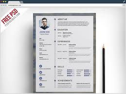 Resume Template Free Printable Maker Cv Builder For Download 93