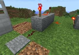 minecraft redstone torches simply run wire from whichever activator you choose to the other unused torch on top of your minecraft pe redstone torch key