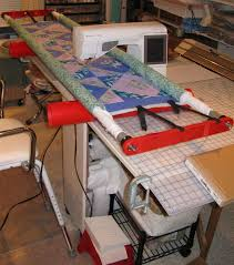 58 best DIY quilting frame for home sewing machines images on ... & Simple DIY machine quilting frame John Flynn website has DVD about itt Adamdwight.com