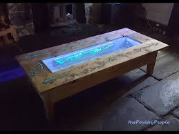 diy pallet coffee table glow in the