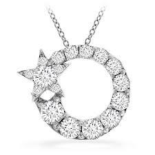 0 9 ctw illa circle cer pendant in