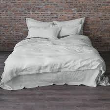 stone washed linen bedding. Interesting Stone Prewashed Linen Duvet Cover Stone Gray On Washed Bedding L