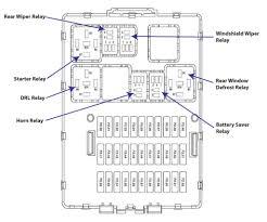 2006 ford focus fuse diagrams ricks auto repair advice ricks 2006 ford focus fuse diagram central junction box