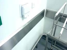 wall guard com stainless guards a per home depot garage vs rubber garage wall door guard