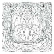Game Of Thrones Coloring Pages Throne Glass Book And Sigils Gam