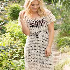 Free Crochet Dress Patterns Inspiration Natural Beauty Crochet Dress Red Heart