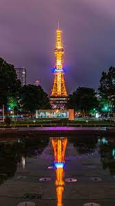 Sapporo Japan Night Lights 4K Ultra HD ...