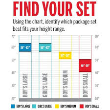 Golf Club Fitting Chart Wilson Profile Junior Golf Club Set Medium Sports Advantage