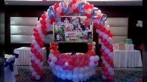 how to decorate home with balloons for birthday party high