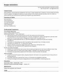 Procurement Specialist Resume Sample Specialist Resumes Livecareer