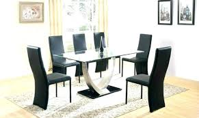 dining tables 6 glass table sets set for of room round seater and chairs next s