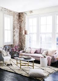 design ideas betty marketing paris themed living: elegant and feminine living room with exposed brick wall pattonmelo