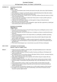 Sample Qa Engineer Resume Senior QA Engineer Resume Samples Velvet Jobs 21
