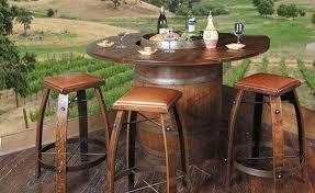 used wine barrel furniture. 18 useful diy ideas how to use old wine barrel used furniture v