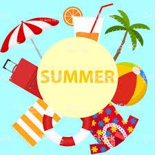 夏の時間夏休み イラストレーションのベクターアート素材や画像を多数