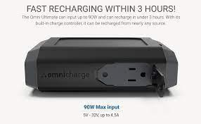 Omni Ultimate - Siêu pin dự phòng, 40.300 mAh, sạc đầy trong 3 giờ, USB-C  60W, thay được lõi pin.