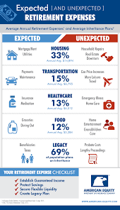 How To Manage Unexpected Retirement Expenses Infographic