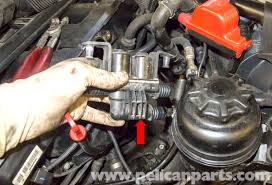 bmw e60 5 series heater valve testing and replacement pelican remove the heater valve from the vehicle