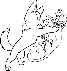 Police Dog Coloring Page Coloring Ideas
