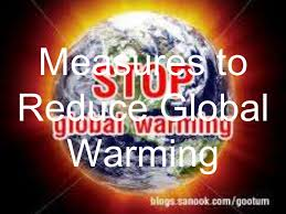 secondary geography measures to reduce global warming
