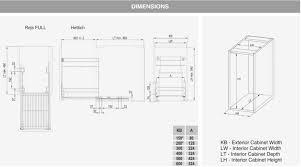 pull out kitchen basket storage self soft close 300 400 500 600mm variant multi rejs ltd