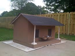 Creative Dog Houses Duplex Dog House White Finger