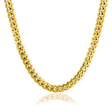 Bling Jewelry Heavy Solid Curb Cuban Link Chain <b>8MM</b> for Men ...