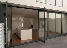 double glazing tempered glass door aluminium frame restaurant swing doors commercial