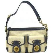 Coach Legacy Medium Khaki Signature Shoulder Bag - 13102 (Apparel)  Coach  Coach Tote