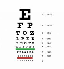 Allen Eye Chart 50 Printable Eye Test Charts Printable Templates