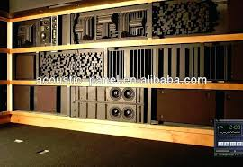 homemade sound diffuser wooden studio recording room sound ceiling acoustic panel acoustic homemade sound diffuser