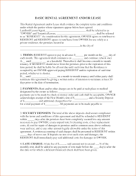 15 Luxury Basic Lease Agreement Template | Best Template