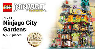 LEGO 71741 Ninjago City Gardens revealed as biggest-ever Ninjago set with  5,685 pieces [News]   The Brothers Brick