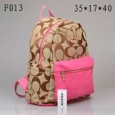 Coach Logo Monogram Medium Pink Backpacks DPI All New Designer Handbags,  Bags, and Purses here!