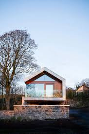 Architecture:Wonderful Loughloughan Barn Exterior With Wooden Wall And Stone  Wall Contemporary Barn Architecture Designs