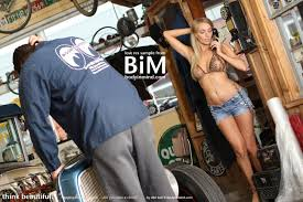 Hayley Marie Coppin works on cars with Body in Mind Your Daily Girl hayley marie036 large