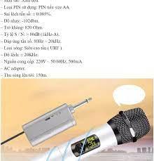 ẢNH THẬT 100% ) Micro không dây DIEN MAY XANH - Micro Không Dây hát karaoke  gia