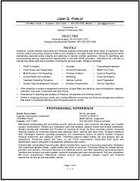 Brilliant I Superb Financial Analyst Resume Format Best Sample
