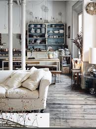 French Antique & Industrial vintage. Interior decoration with soul and