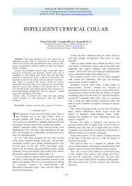 (PDF) <b>INTELLIGENT CERVICAL</b> COLLAR