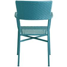 Teal Chair Del Rey Blue Stacking Chair Pier 1 Imports