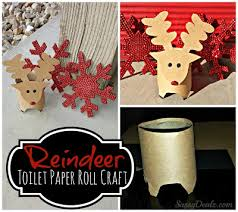 26 Super Easy Christmas Crafts For Kids To Make  CraftRiverToilet Paper Roll Crafts For Christmas