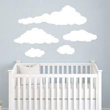 cloud wall decal nursery wall decals