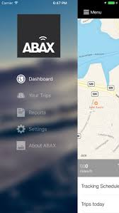 Abax Triplog Mileage Claim Android And Ios Apps