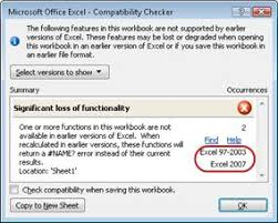 Use Excel With Earlier Versions Of Excel Excel
