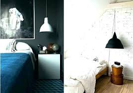 corded ceiling lights pendant light black and white hanging bedroom wire lamp within